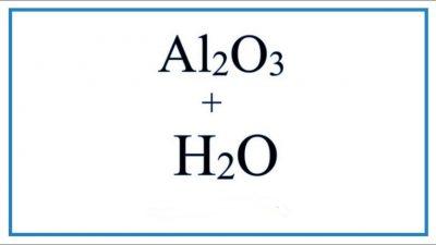 al2o3-h2o