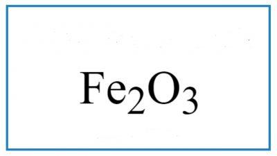 fe2o3-h2o