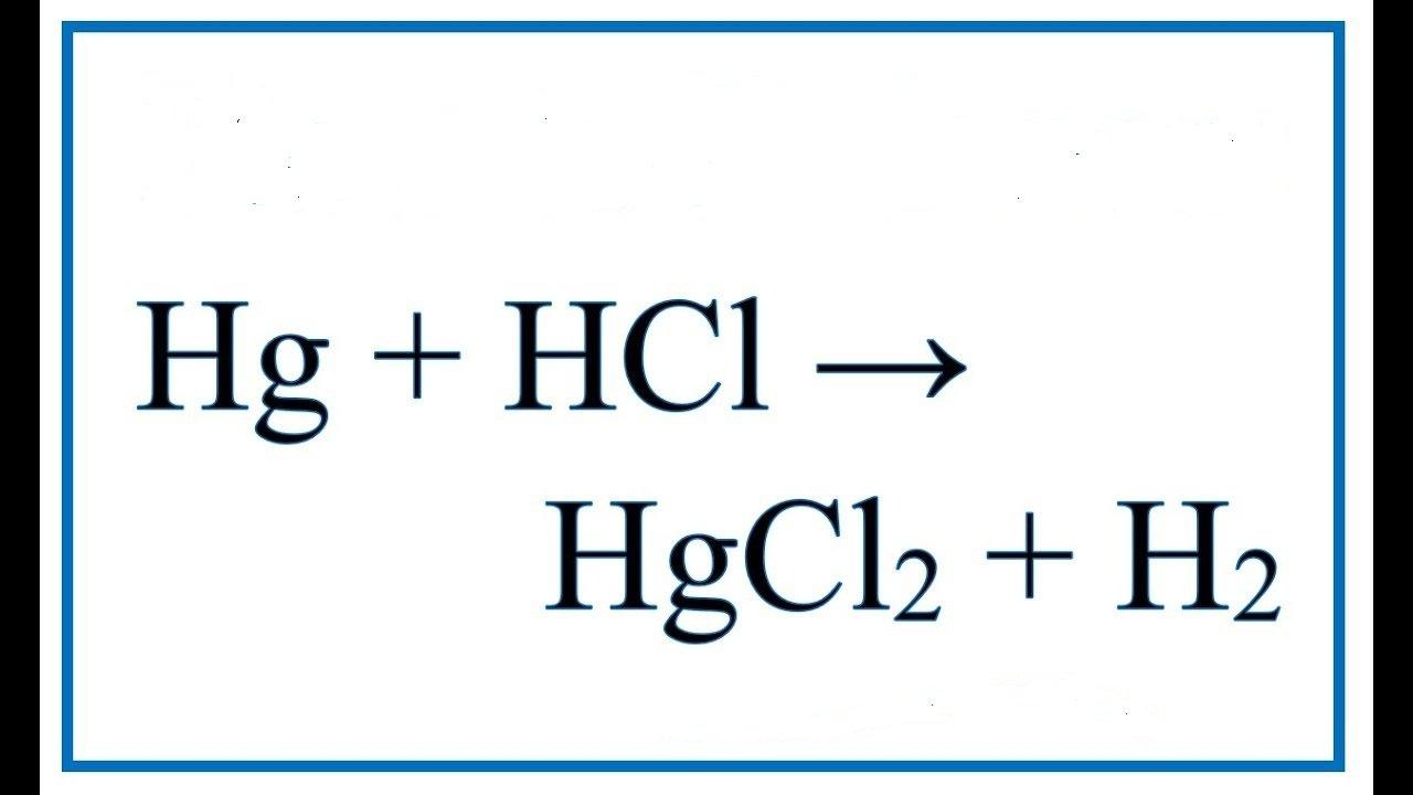 hg-hcl