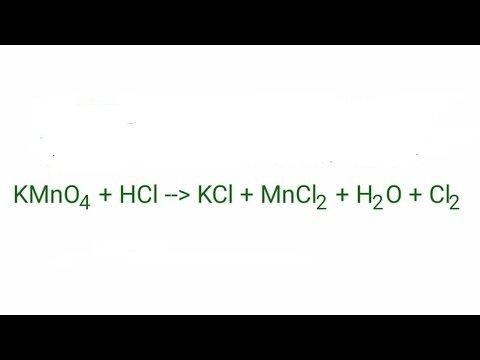 kmno4-hcl
