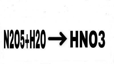 n2o5-h2o