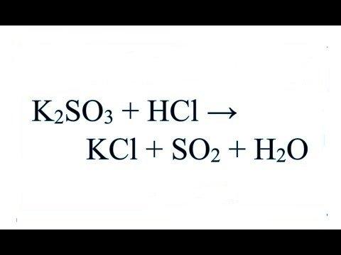 k2so3-hcl