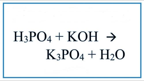 koh-h3po4