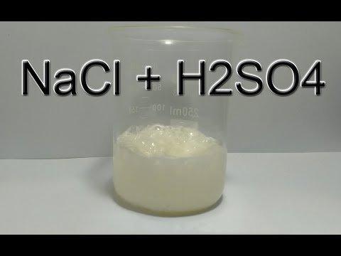nacl-h2so4