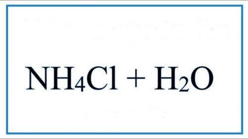 nh4cl-h2o